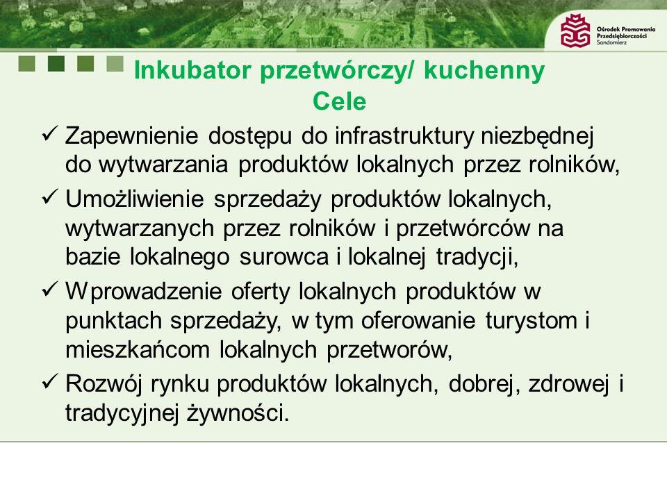 Inkubator przetwórczy/ kuchenny Cele