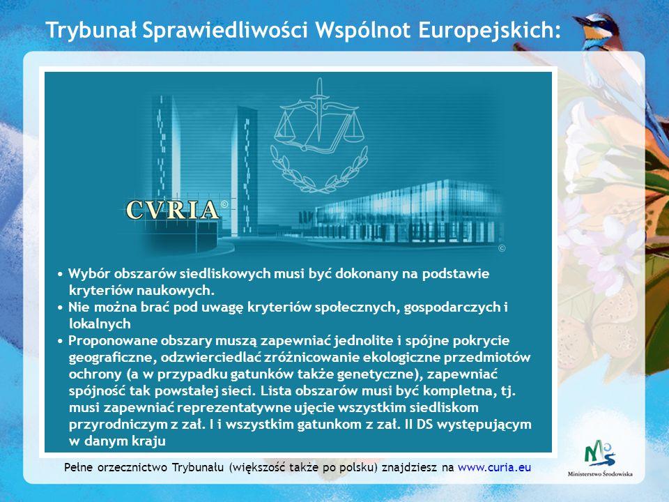 Trybunał Sprawiedliwości Wspólnot Europejskich: