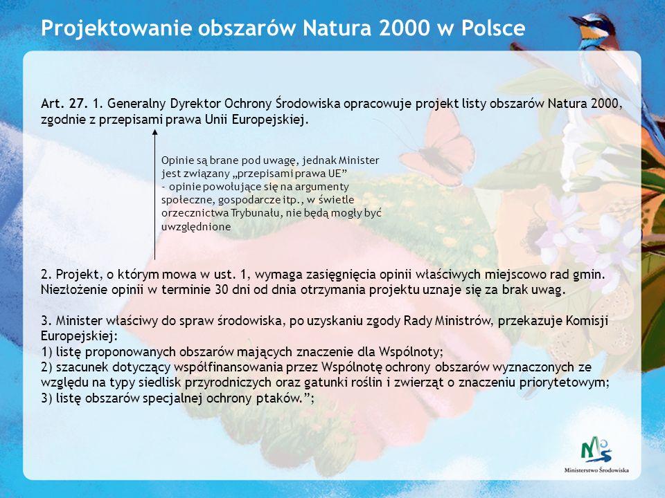Projektowanie obszarów Natura 2000 w Polsce