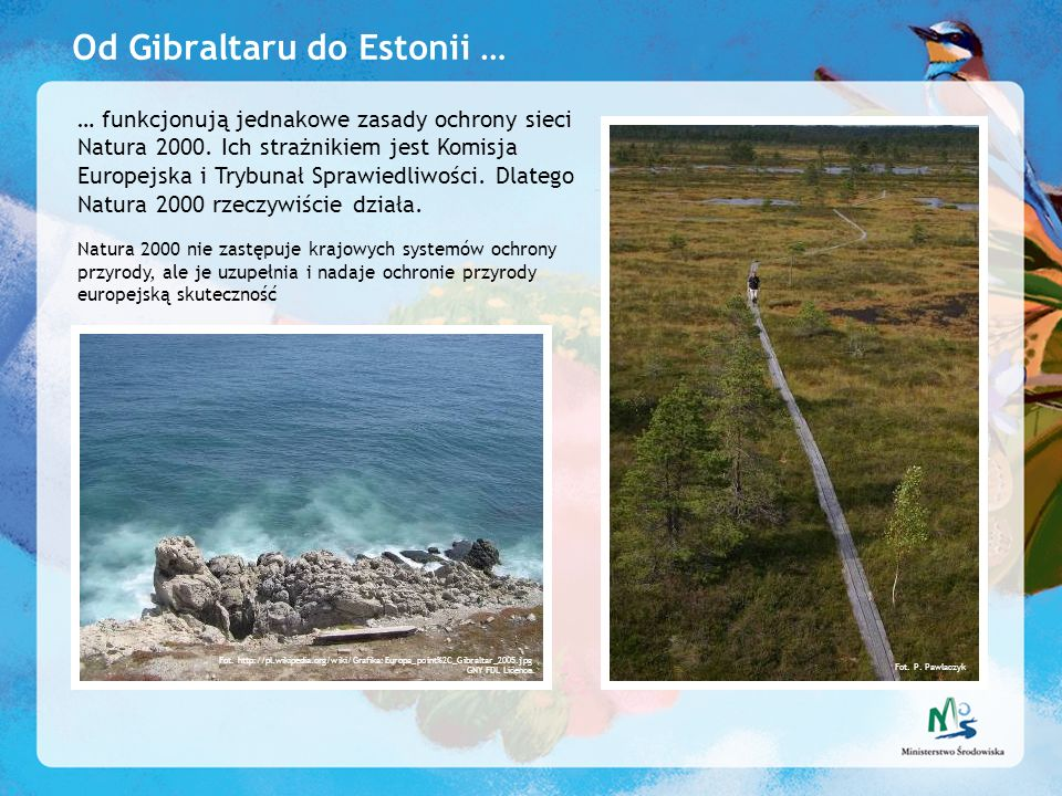 Od Gibraltaru do Estonii …