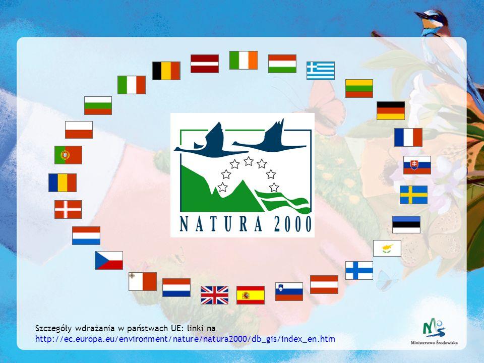 Szczegóły wdrażania w państwach UE: linki na http://ec. europa