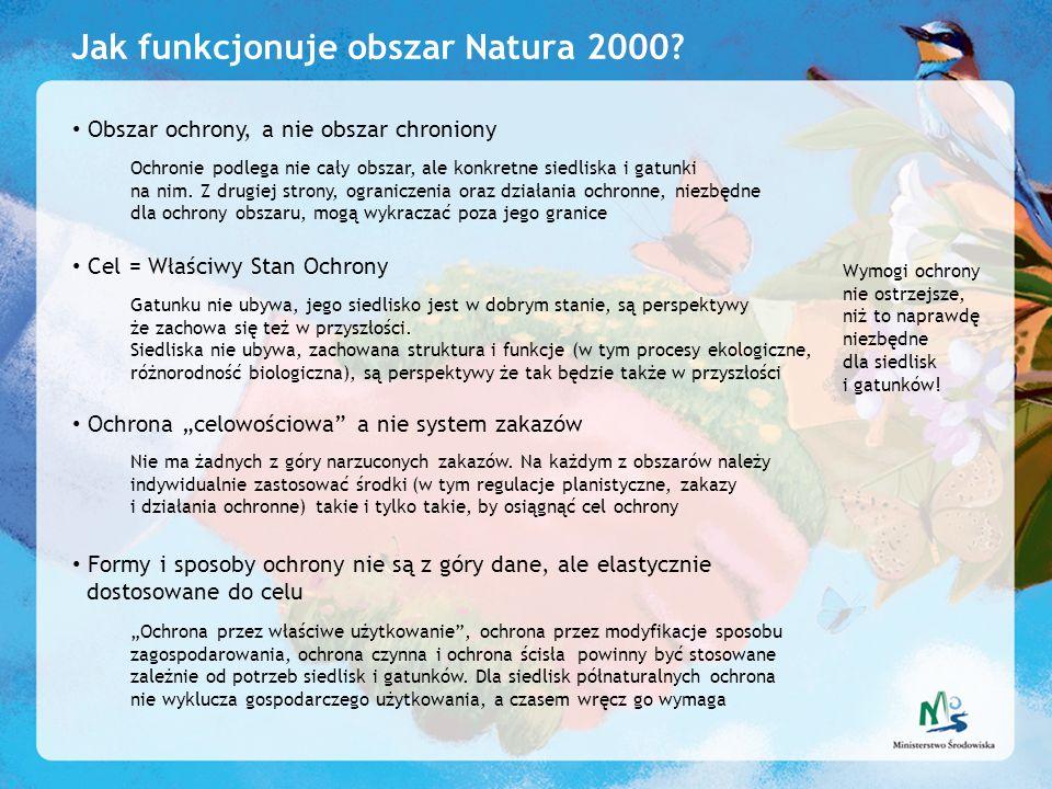 Jak funkcjonuje obszar Natura 2000