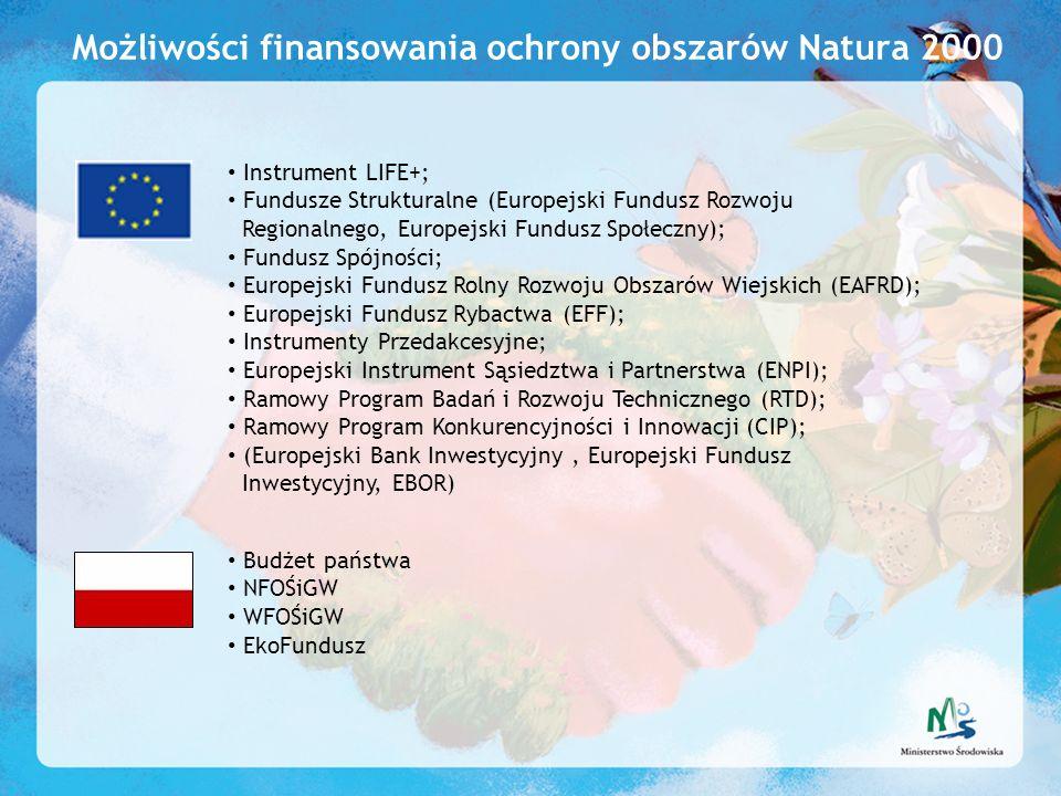 Możliwości finansowania ochrony obszarów Natura 2000
