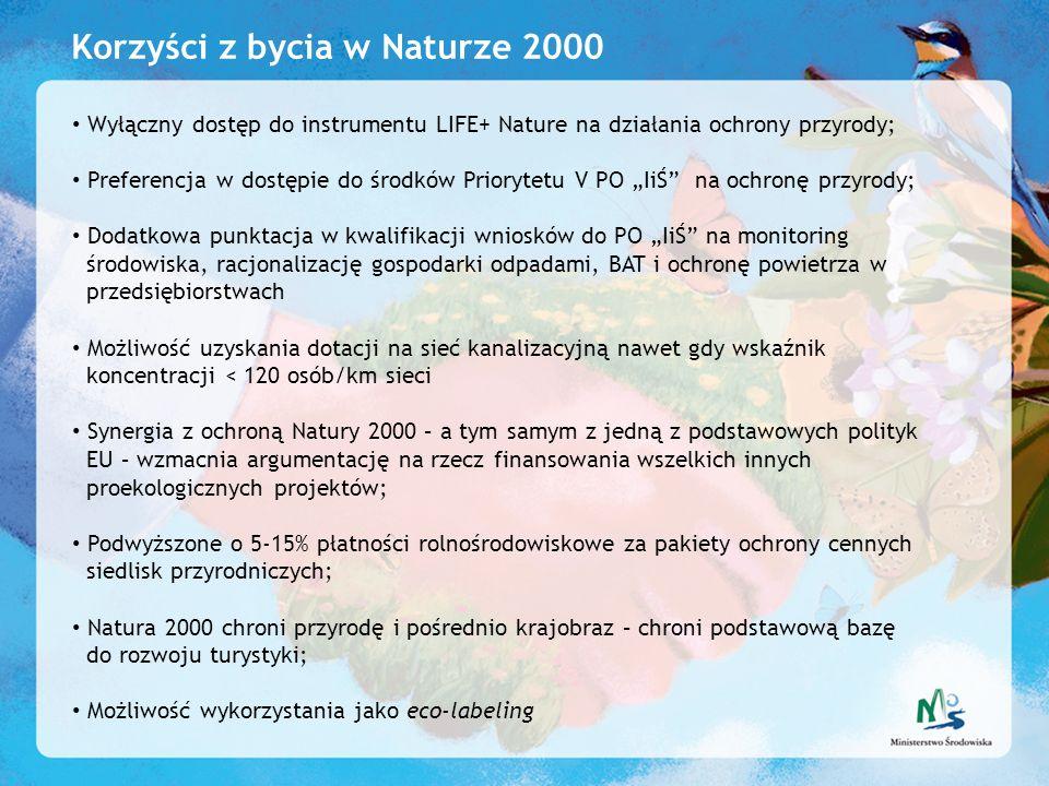 Korzyści z bycia w Naturze 2000