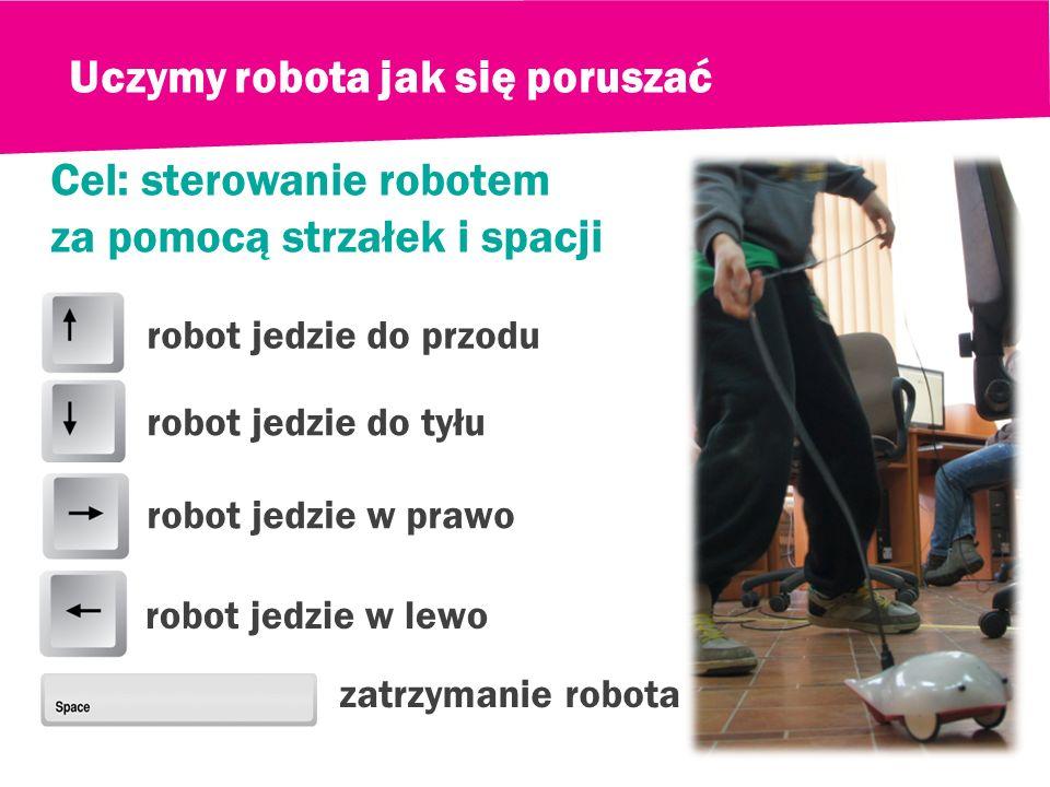 Uczymy robota jak się poruszać