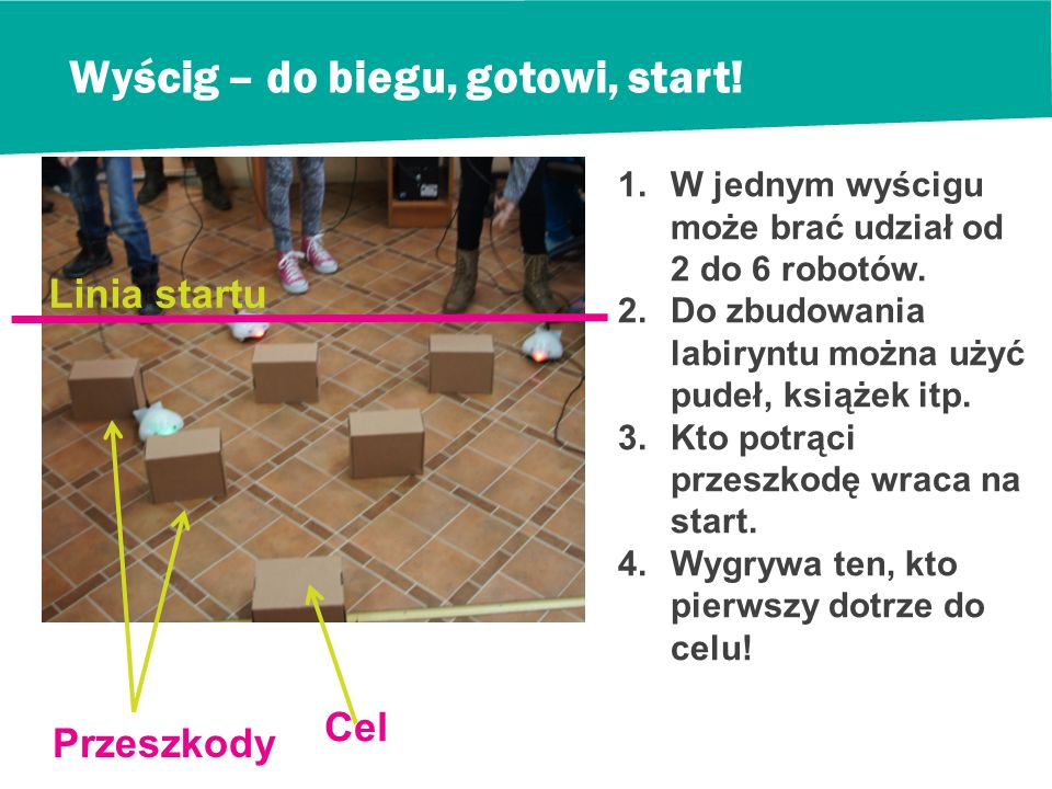 Wyścig – do biegu, gotowi, start!