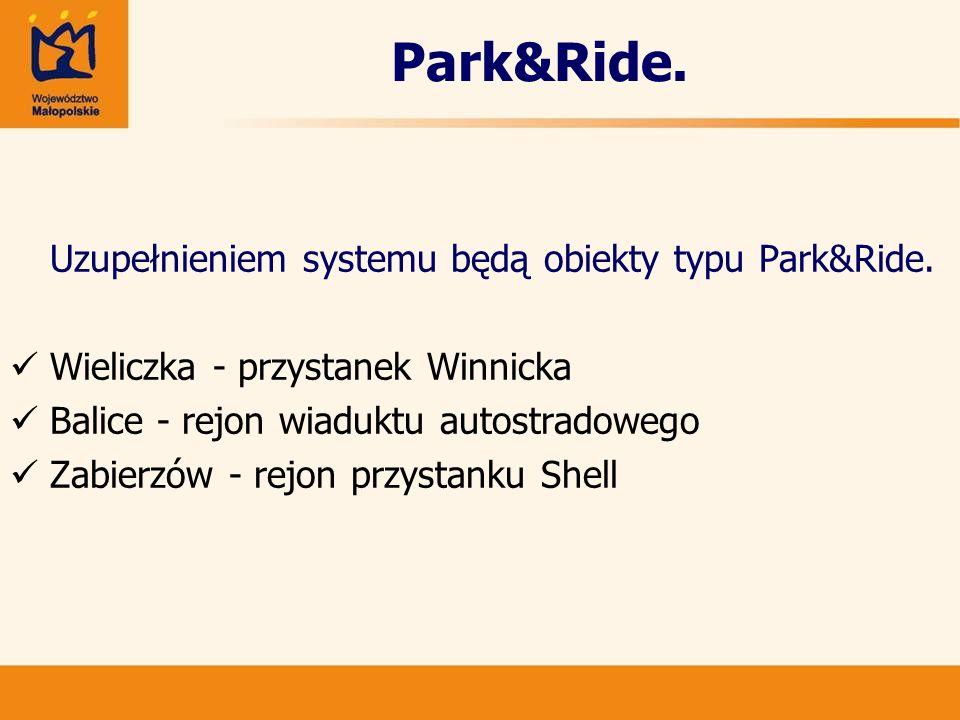 Park&Ride. Wieliczka - przystanek Winnicka