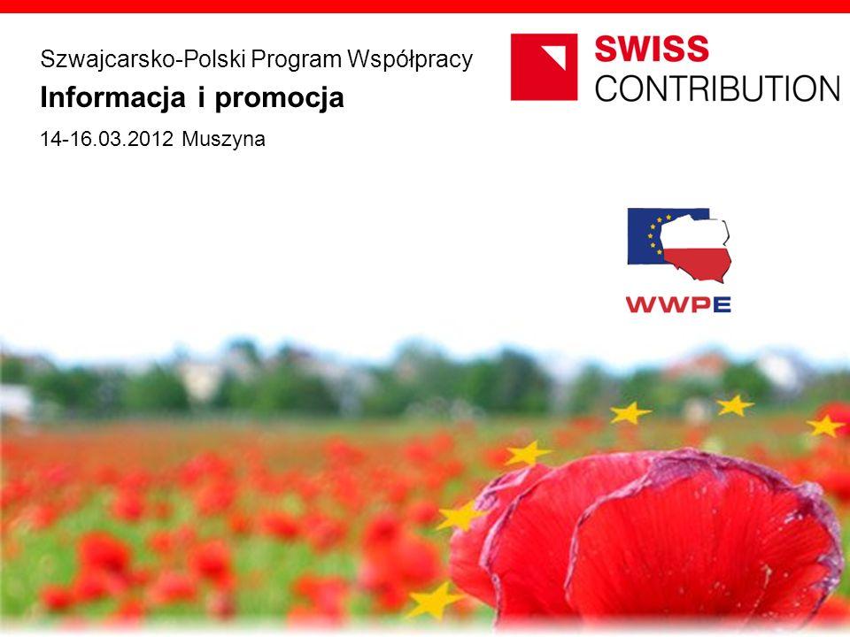 Informacja i promocja Szwajcarsko-Polski Program Współpracy