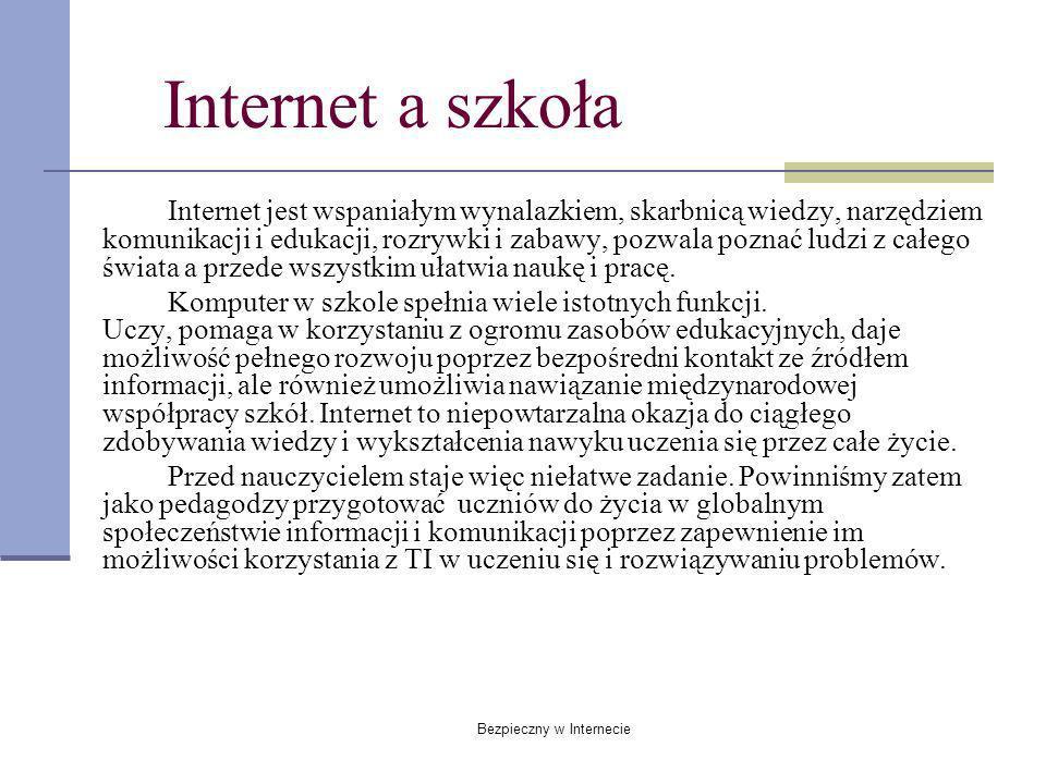 Bezpieczny w Internecie