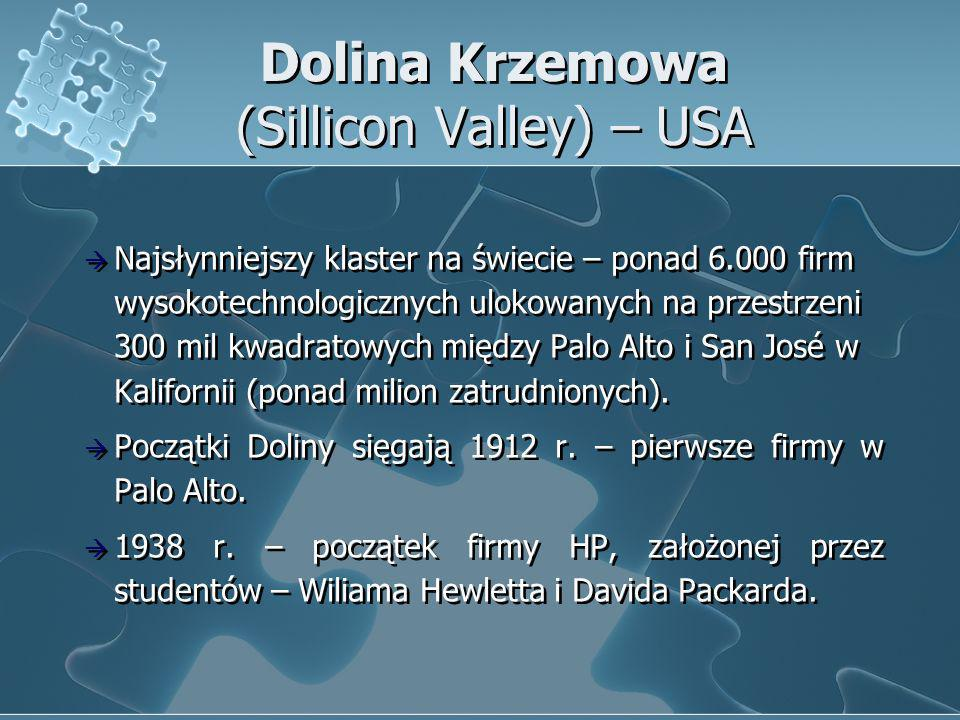 Dolina Krzemowa (Sillicon Valley) – USA
