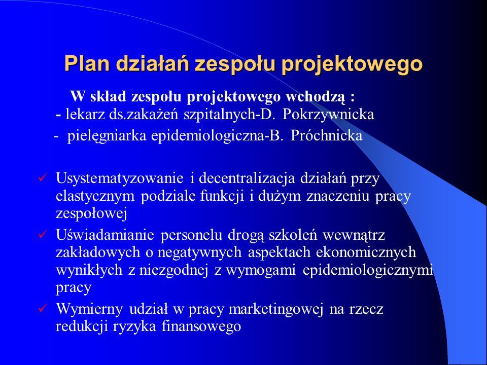 Plan działań zespołu projektowego
