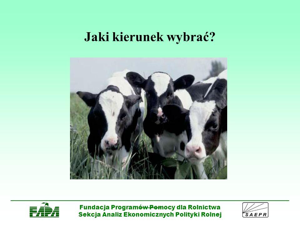Jaki kierunek wybrać Fundacja Programów Pomocy dla Rolnictwa