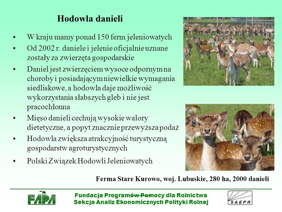 Hodowla danieli W kraju mamy ponad 150 ferm jeleniowatych