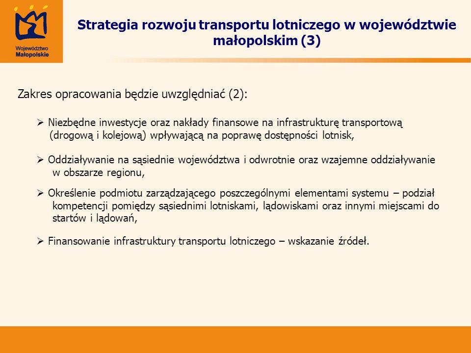 Strategia rozwoju transportu lotniczego w województwie małopolskim (3)