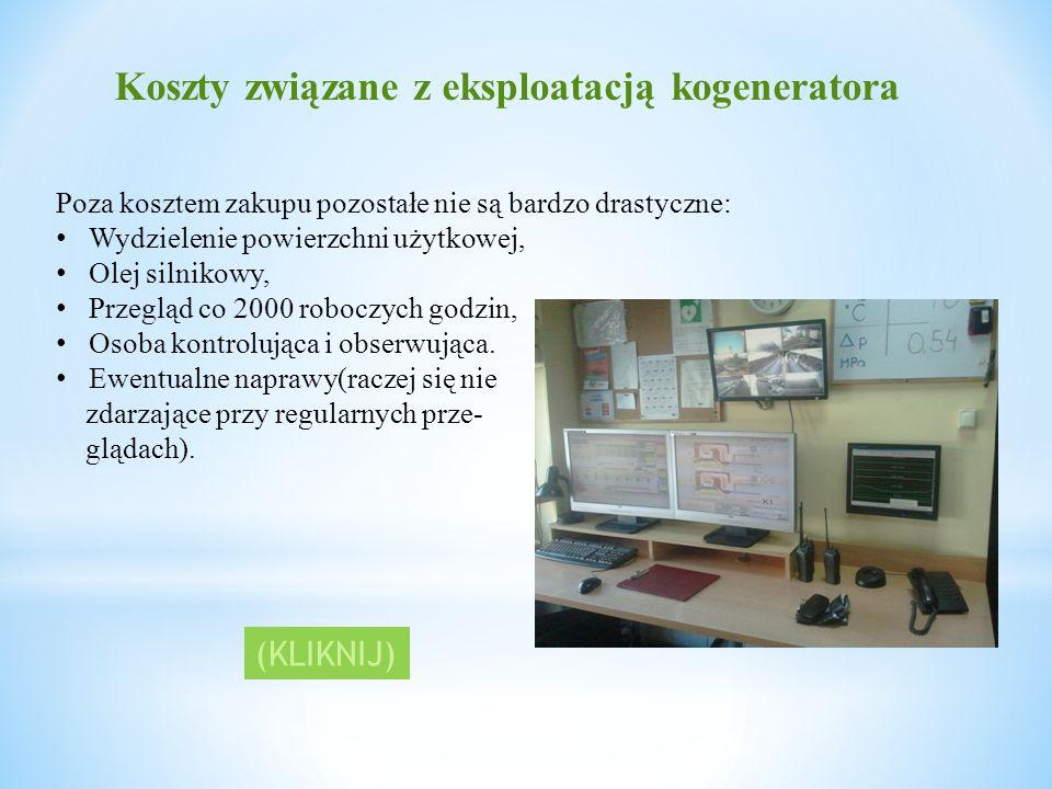 Koszty związane z eksploatacją kogeneratora