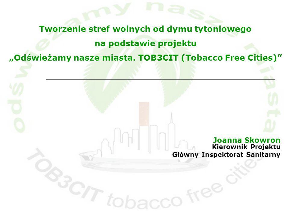 Joanna Skowron Kierownik Projektu Główny Inspektorat Sanitarny