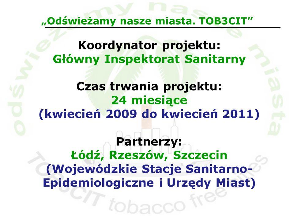 Koordynator projektu: Główny Inspektorat Sanitarny