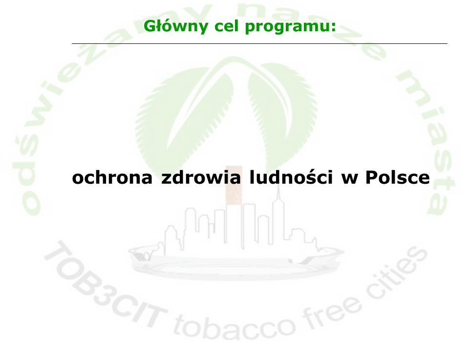 ochrona zdrowia ludności w Polsce