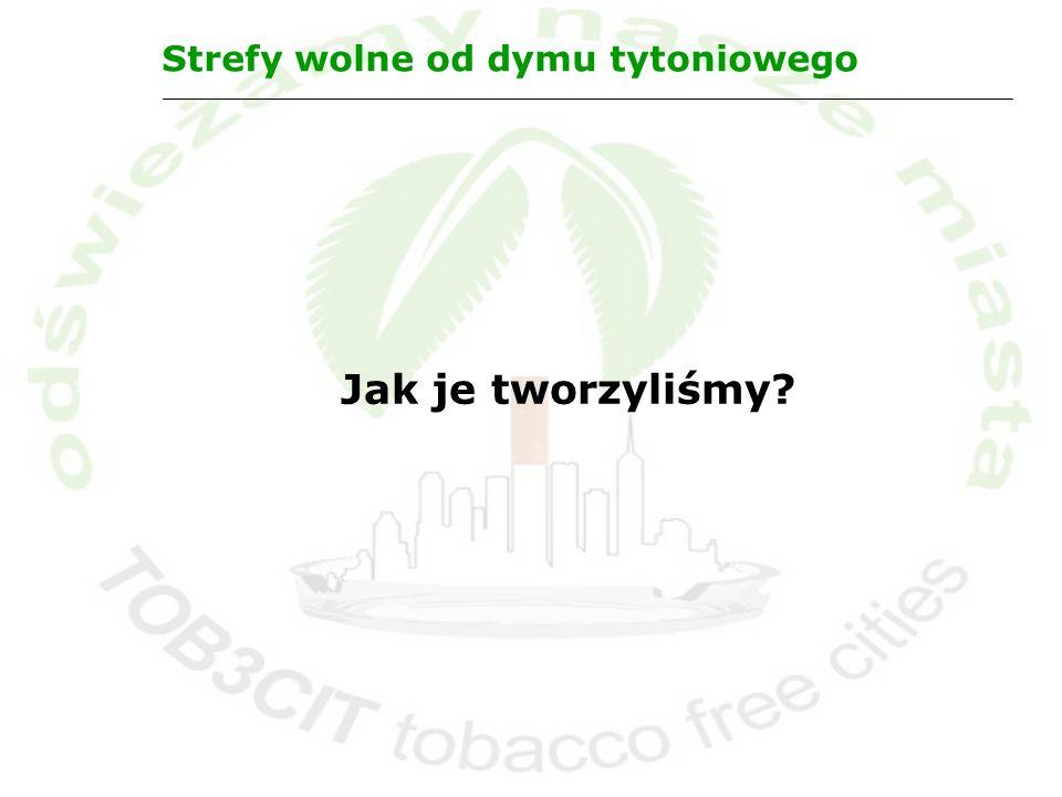 Strefy wolne od dymu tytoniowego