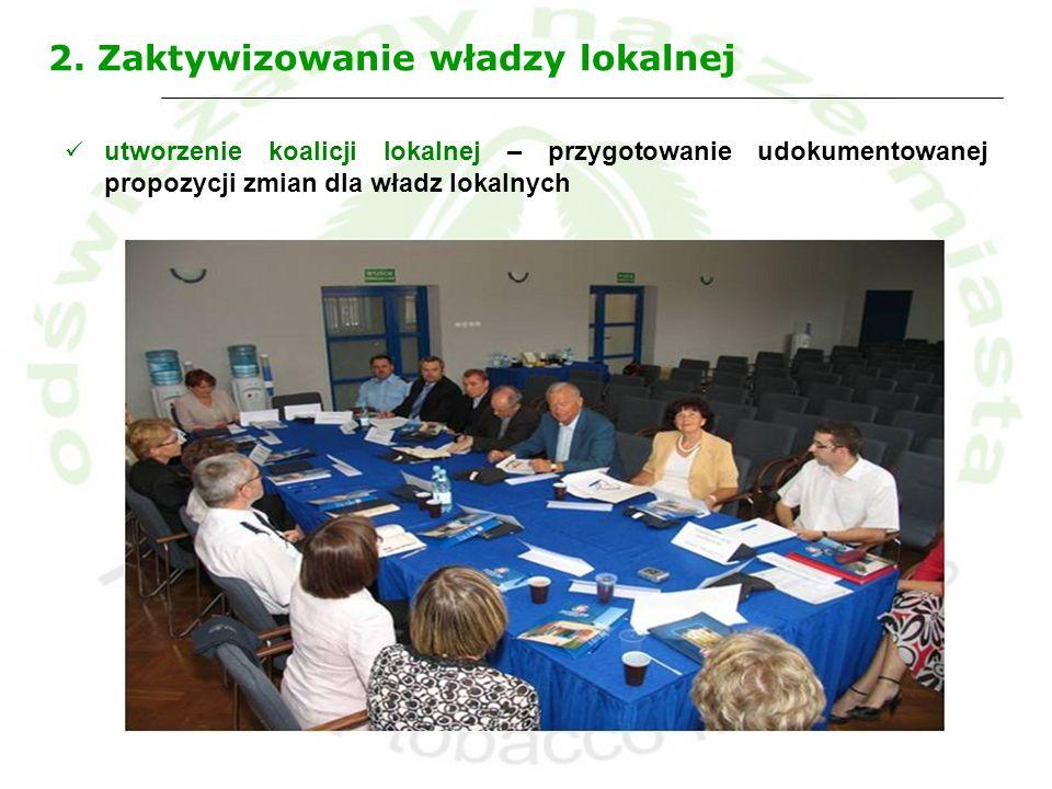 2. Zaktywizowanie władzy lokalnej