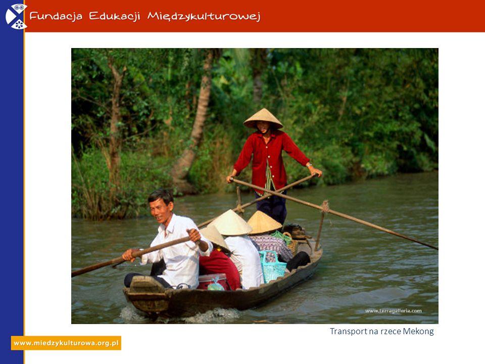 Transport na rzece Mekong