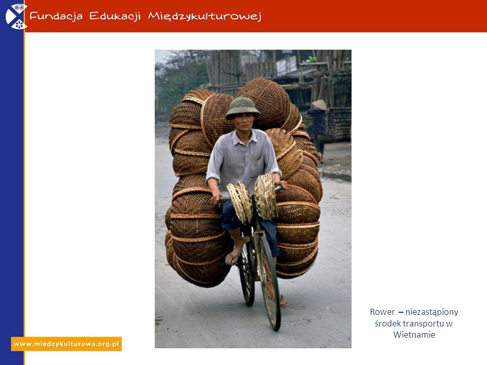Rower – niezastąpiony środek transportu w Wietnamie