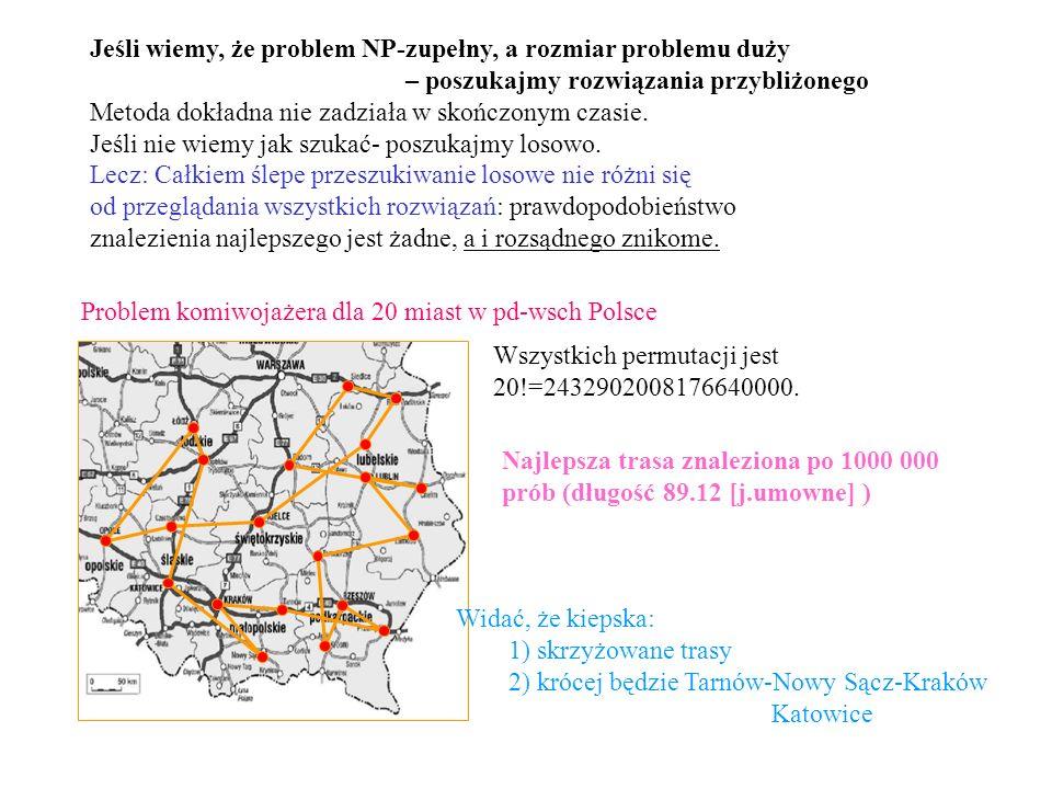 Jeśli wiemy, że problem NP-zupełny, a rozmiar problemu duży