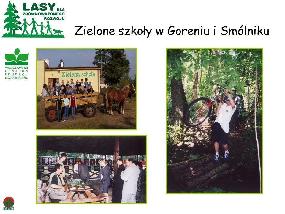 Zielone szkoły w Goreniu i Smólniku