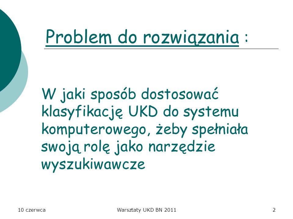 Problem do rozwiązania :