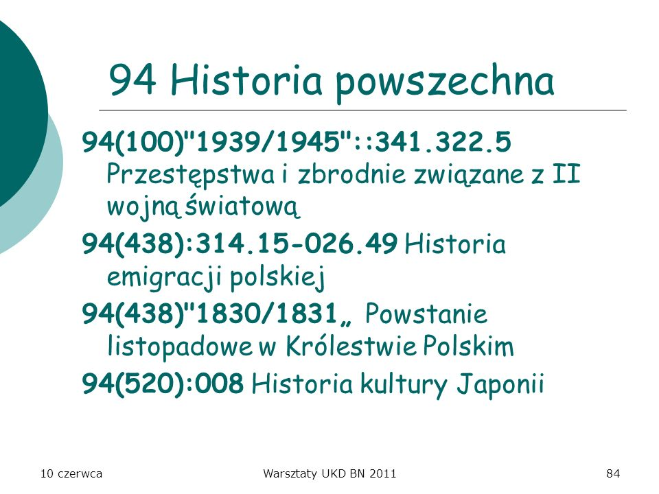 94 Historia powszechna 94(100) 1939/1945 ::341.322.5 Przestępstwa i zbrodnie związane z II wojną światową.