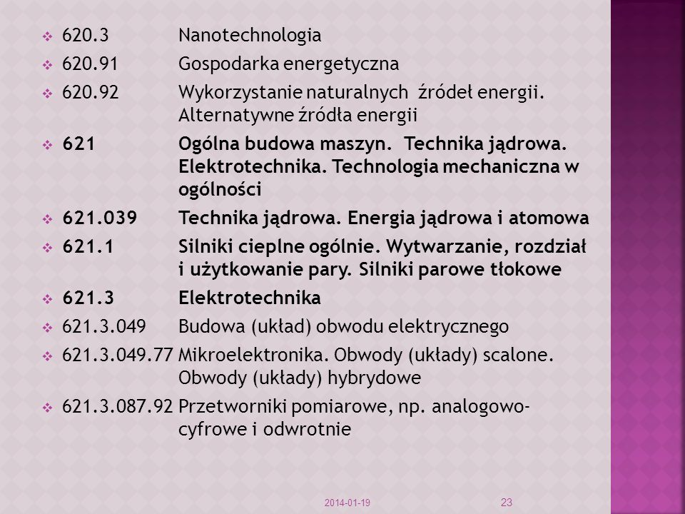 620.91 Gospodarka energetyczna