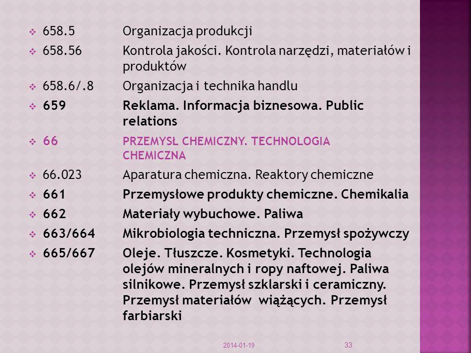 658.5 Organizacja produkcji