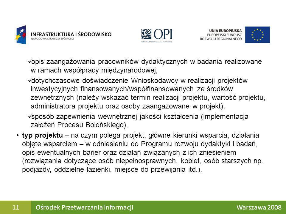opis zaangażowania pracowników dydaktycznych w badania realizowane w ramach współpracy międzynarodowej,