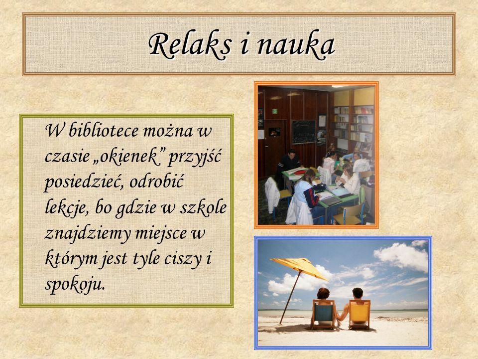 Relaks i nauka