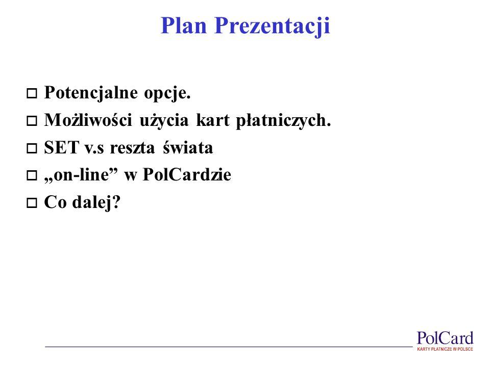 Plan Prezentacji Potencjalne opcje.