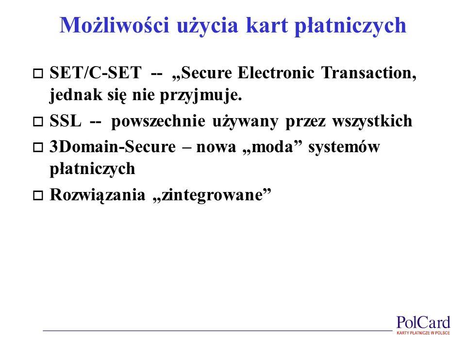 Możliwości użycia kart płatniczych
