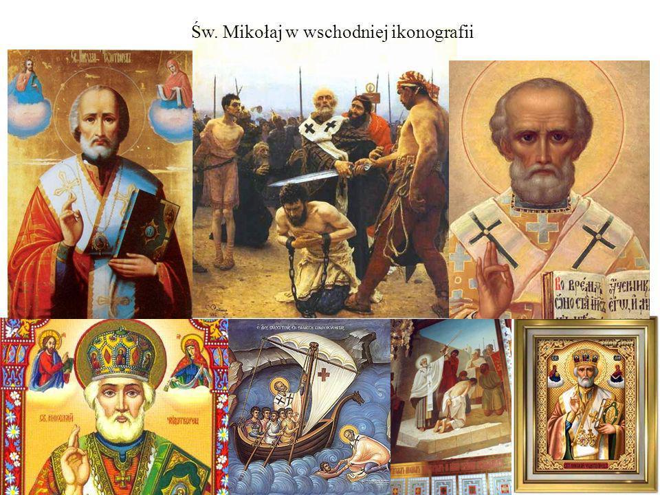 Św. Mikołaj w wschodniej ikonografii