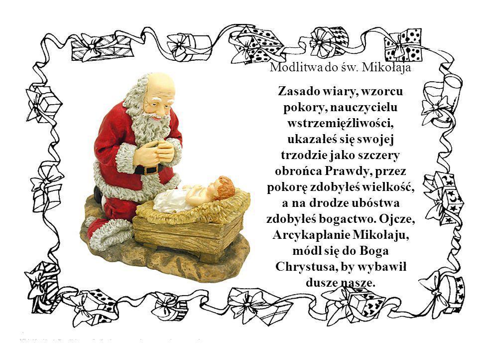 Modlitwa do św. Mikołaja