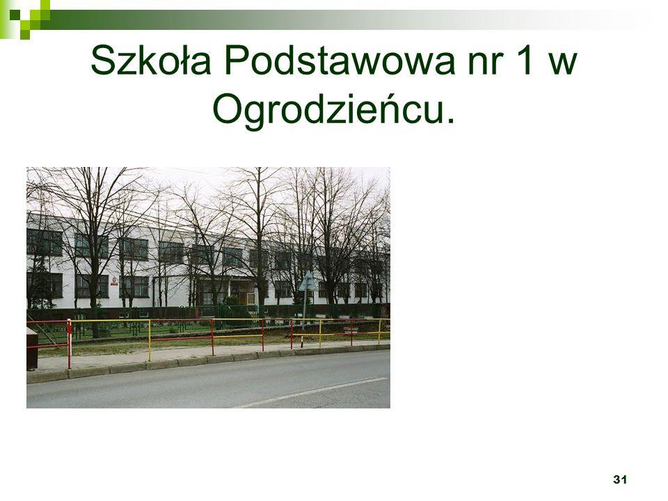 Szkoła Podstawowa nr 1 w Ogrodzieńcu.
