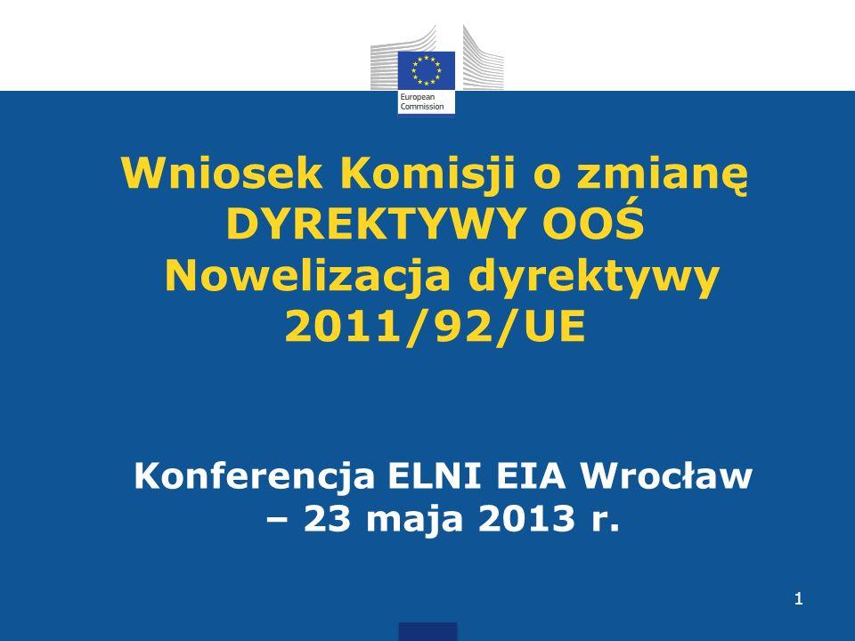 Konferencja ELNI EIA Wrocław – 23 maja 2013 r.