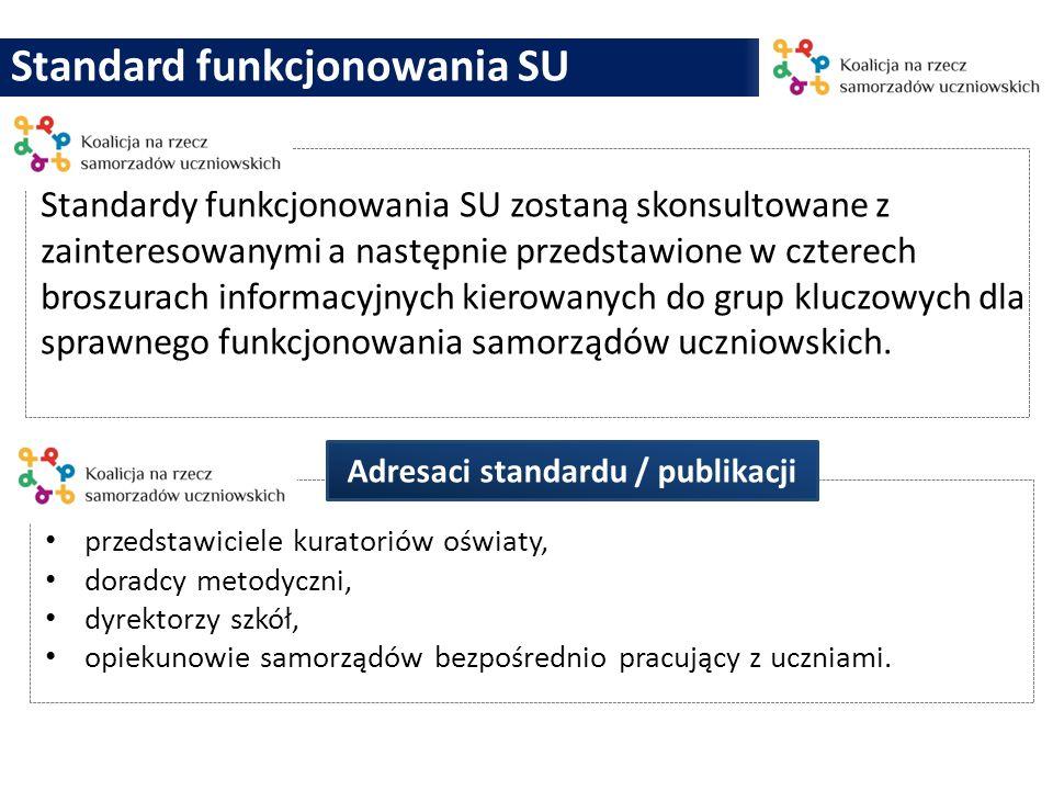 Adresaci standardu / publikacji