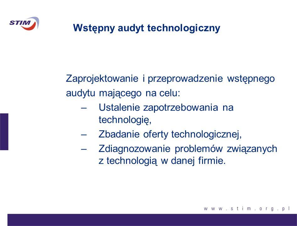 Wstępny audyt technologiczny