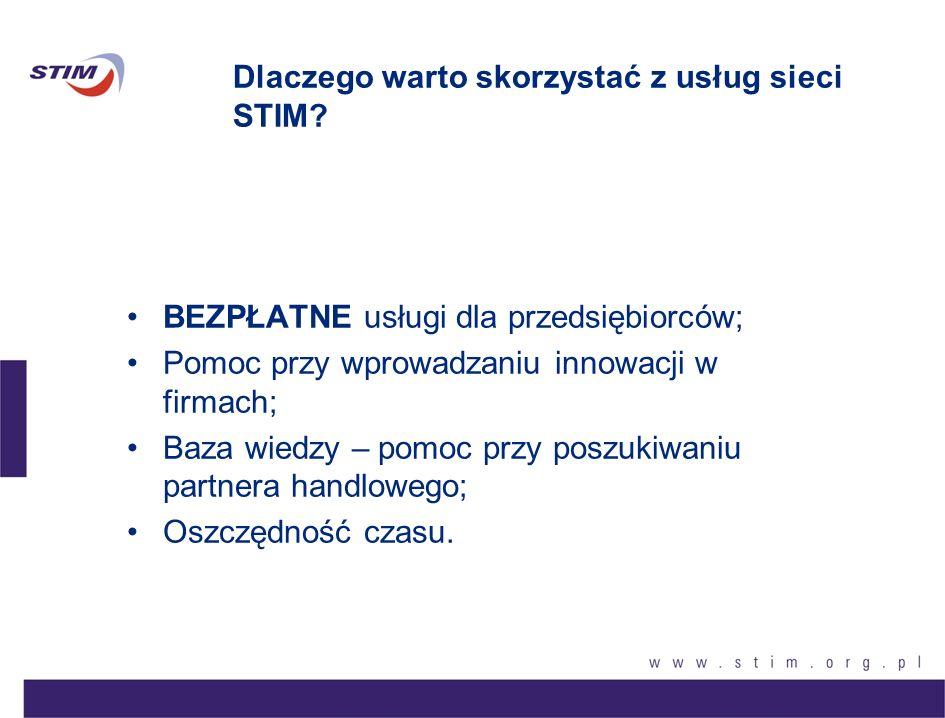 Dlaczego warto skorzystać z usług sieci STIM