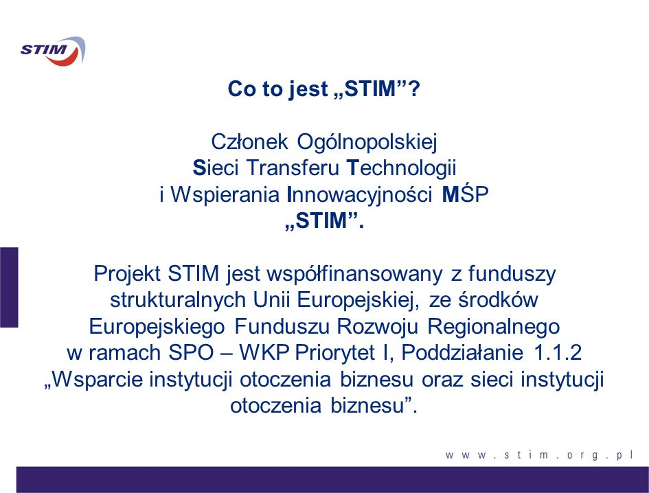 "Co to jest ""STIM ."