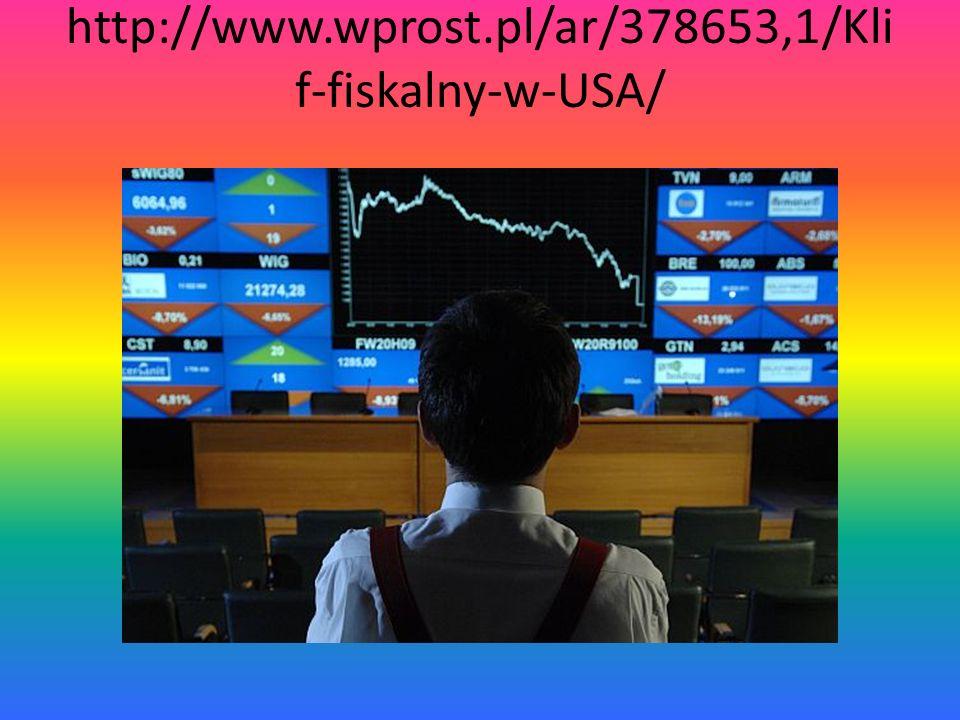 http://www.wprost.pl/ar/378653,1/Klif-fiskalny-w-USA/