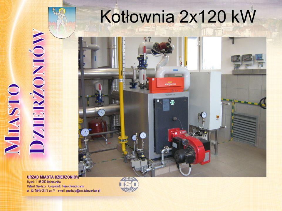 Kotłownia 2x120 kW