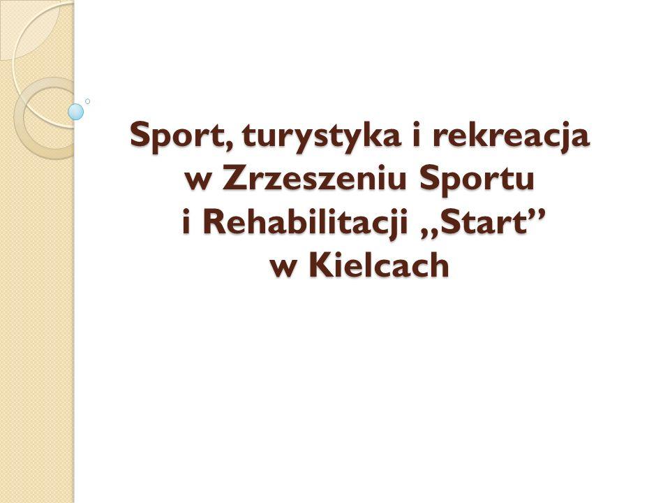 """Sport, turystyka i rekreacja w Zrzeszeniu Sportu i Rehabilitacji """"Start w Kielcach"""