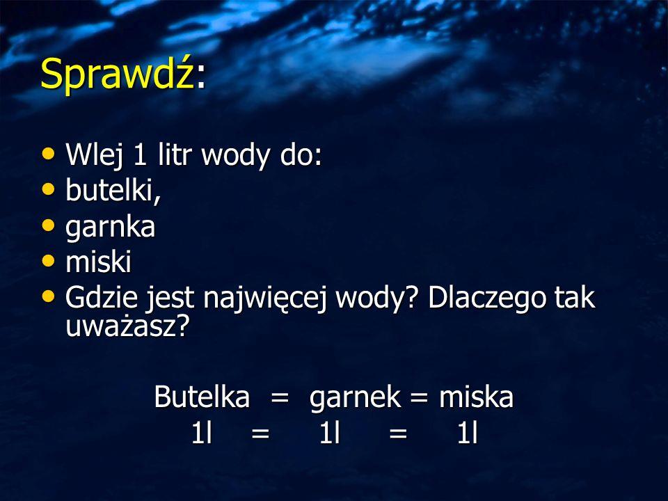 Butelka = garnek = miska