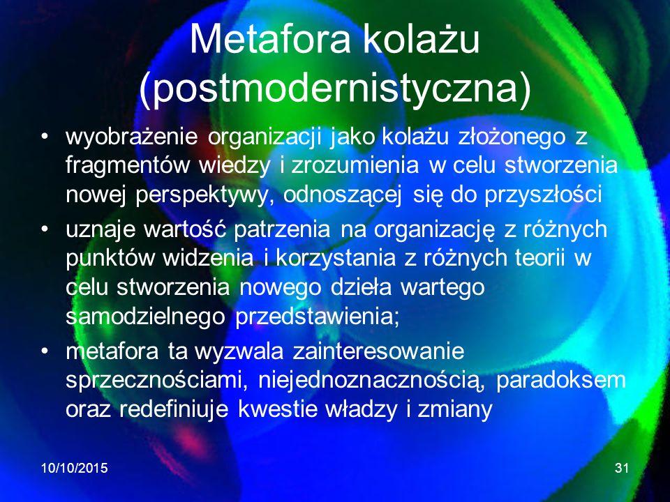 Metafora kolażu (postmodernistyczna)