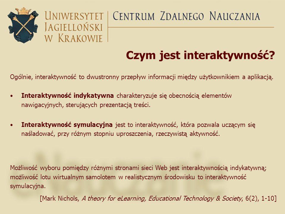 Czym jest interaktywność